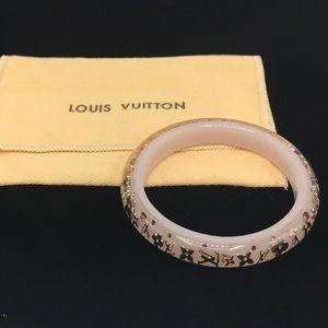 Authentic Louis Vuitton Pink Bangle Bracelet 💗